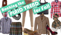 Rocking the Plaid Trend for Fall