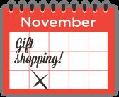 November Gift Shopping